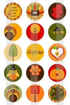Happy Fall  one 4x6 inch digital sheet of 1 por creativexpressions1