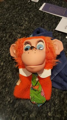 Maurice the monkey talking puppet
