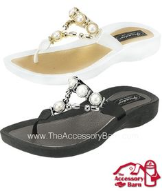 24e99c5c1af1fa Grandco Sandals for women. Largest selection of thong beaded   jeweled  sandals at The Accessory Barn!