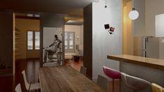 studio grafico,architettura,restauro e decorazioni Studio Design, Conference Room, Table, 3d, Furniture, Home Decor, Decoration Home, Meeting Rooms, Tables