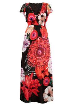 Vestido Desigual Élgic Vermelho - Compre Agora | Dafiti Brasil