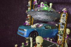 """Alien Abduction"" (with an actual levitating car!) by Robert Wandras. 2015 Smallest Parade"