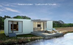 CasaHome Immobilien AG Dream Studio, Prefab Homes, Home Pictures, My Dream Home, Cottage, Patio, Mansions, House Styles, Outdoor Decor