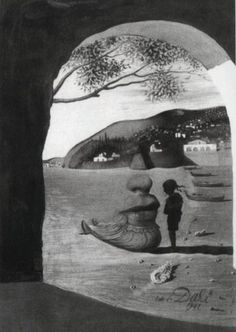 Optical Illusions in Salvador Dali's Paintings (17 pics)