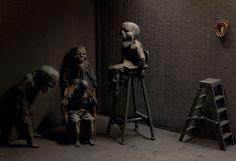 """""""fantasmas del pasado"""" el hombre gris 2013 Cayetano Ferrandez"""