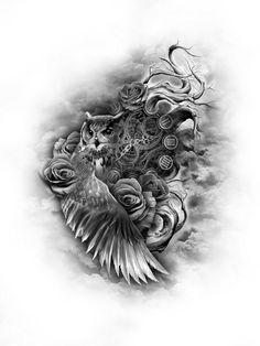 Tattoon uil