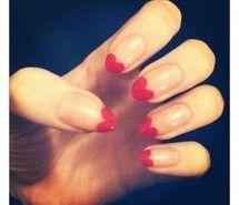 love hearts nail polish
