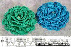 rose mat a maglia