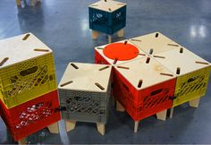The XTOOL By Combo Collab Re-Imagines the Milk Crate as Interc...