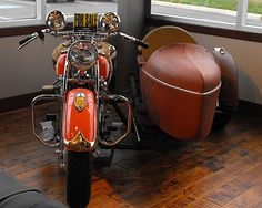 A Virtuous Woman: Vintage Indian Motorcycles