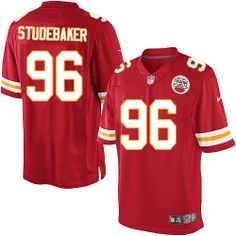 NFL Kansas City Chiefs #96 Andy Studebaker Limited Red Men Jersey