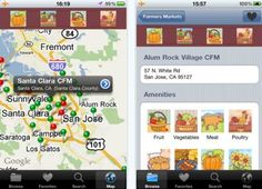 Farmers' Market Finder iPhone App Keeps You Rolling in Fresh Food : TreeHugger http://www.treehugger.com/green-food/farmers-market-finder-iphone-app-keeps-you-rolling-in-fresh-food.html
