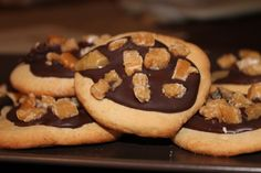 Ciastka z brązowym cukrem, czekoladą i krówkami - W kuchennym raju