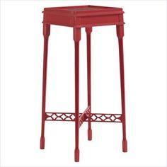 Charleston Regency - Heyward Tea Table in Church Coral - 302-75-17 - living room - Stanley Furniture