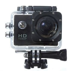 HD1080P CAM DV Action Waterproof  Camera SJ4000 For Bicycle Helmet Sports Black
