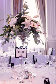 Flowers close up Black & White Themed Wedding Photography: Jez Dickson Photography