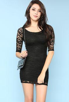Lacy Slim Fit Dress