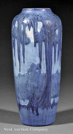 Newcomb Vase decorated by Anna Frances Simpson, 1928