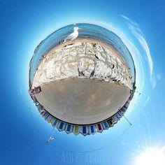 Seagull Pose  #Paignton #preston #Beach #sea #seagull #bird #nature #animal #beachhuts #tinyplanet #littleplanet #360photo #360view #lifein360 #instalittleplanet #360camera #360photography #360 #360photo #sphere #travel #photosphere #360panorama #spherical #planet #snapshot #camerafun