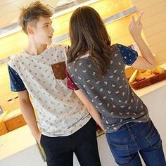 Buy 'Evolu – Short-Sleeve Paisley Print Couple T-Shirt' with Free International Shipping at YesStyle.com. Browse and shop for thousands of Asian fashion items from China and more!