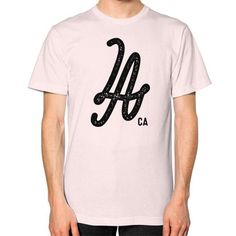 Los Angeles CA Unisex T-Shirt (on man)