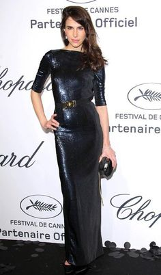 447afe0ba66 Caroline Sieber at the Chopard Cannes party