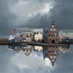 De Rijp (The Netherlands) by Jan Siebring