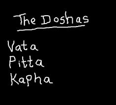 The three #doshas referred to in #Ayurvedictherapy www.ayurveda-retreat.co.uk