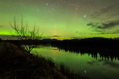 Night Lights on the Yukon River by Keith Williams on 500px