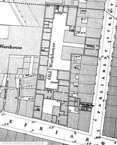Hull Charity Hall workhouse site, 1853