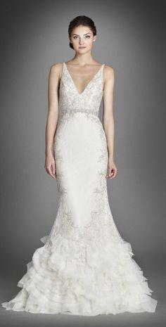 Lazaro wedding dresses 4 - Deer Pearl Flowers / http://www.deerpearlflowers.com/wedding-dress-inspiration/lazaro-wedding-dresses-4-2/