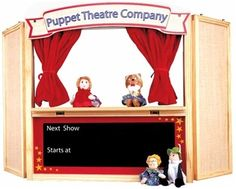 Finger puppet theatre sample to make