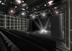 Gallery of 'Show Under Skin' Riga Theatre Reconstruction Competition Entry / NRJA + IG Kurbads - 6