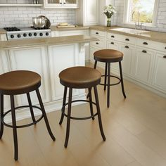 AMISCO - Root Stool (42428) - Furniture - Kitchen - Countryside collection - Traditional - Swivel stool