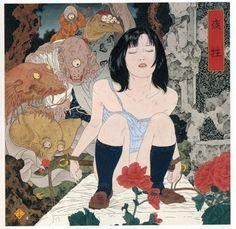 《ナルシスの祭壇》山本タカト