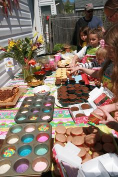 """Photo 1 of 25: Cupcakes! / Birthday """"Fancy Cupcake Extravaganza """" 