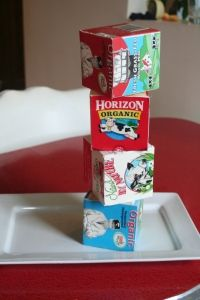 milk carton blocks