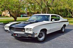 1970 Buick Skylark REAL GSX V8 STAGE 1 455,1 of only 187 white GSX's ever built.http://bit.ly/usamusclecars