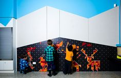 HASSELL | Projects - Murray Bridge Library - Interactive Children's Area