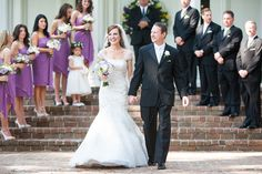 Beautiful bride and groom just married at the Rose Hill Mansion.