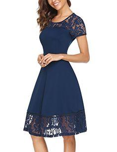 ANGVNS Women Vintage Short Sleeve A Line Floral Lace Patc... https://www.amazon.com/dp/B074P33SZM/ref=cm_sw_r_pi_dp_U_x_puKWAb8XZNKJQ  Amazon.com 35.00
