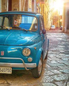 Immagine di adventure, car, and amazing Lucy Fiat Cinquecento, Fiat 500c, Porsche, Fiat Uno, Fiat Cars, Chasing Cars, Nissan 370z, Cute Cars, Car Engine