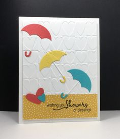 F4A338 Bridal Blessings by beesmom - Cards and Paper Crafts at Splitcoaststampers - SU - Whatever the Weather