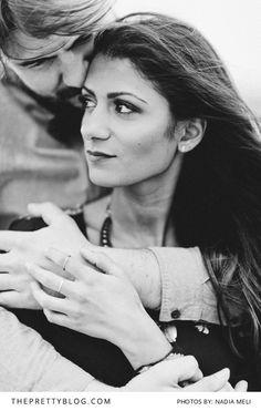 Trendy Hipster + Beautiful Boho Love | Classic Black & White | Photography by Nadia Meli
