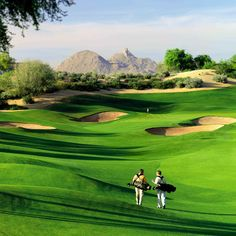 Acacia course at Kierland Golf Club at The Westin Kierland Resort & Spa in Scottsdale, Arizona