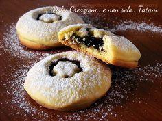 Biscotti farciti alla marmellata #biscotti #marmellata #ricetta