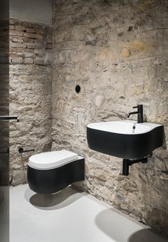 COCOON toiletroom design bycocoon.com | toiletroom design inspiration | inox bathroom taps | bathroom design | renovations | interior design | villa design | hotel design | Dutch Designer Brand COCOON | White Concrete Old House by I/O architects