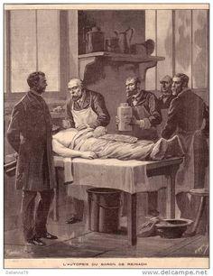 La Autopsia en el Arte: Autopsia del barón de Reinach