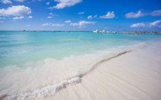 Happiness is a day at the beach! Palm Beach, Aruba Holiday Inn Resort Aruba