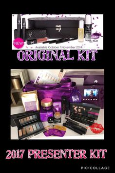 The kit I received when I joined Younique vs The New Presenters Kit... Both SAME price! Its a no brainer  Younique are constantly upping their game in all departments to keep us presenters happy